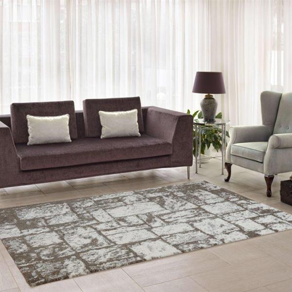 La Dole Rugs®  Contemporary Abstract European Rug - 7' x 10' - Beige