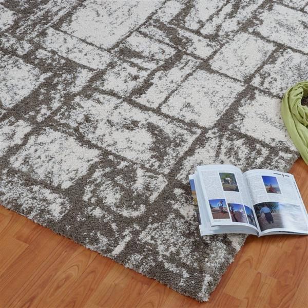 La Dole Rugs®  Contemporary Abstract European Rug - 3' x 10' - Beige