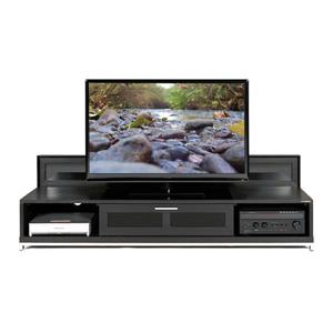Valencia Modern TV Stand -  Black Oak Finish - 79