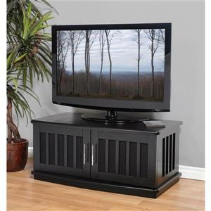 Plateau Craftsman LSXD42B TV Stand - Black Oak - 42-in