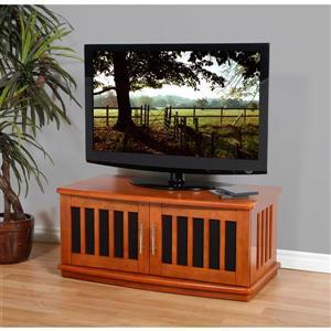 Plateau Craftsman LSXD42B TV Stand - Walnut Finish - 42-in