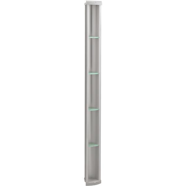 KOHLER Pilaster Shower Locker Storage - 61-in - Aluminum  - Silver