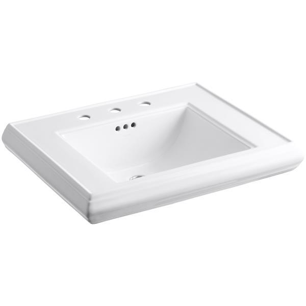 KOHLER Memoirs Pedestal Bathroom Sink Basin - Vitreous China