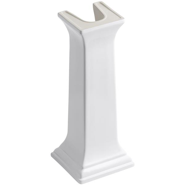 Kohler Memoir Bathroom Sink Pedestal 11 In X 26 4 In White