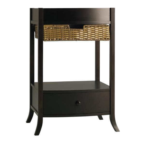 KOHLER Archer Vanity Cabinet - 24-in x 32.8-in - Wood - Black