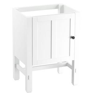 Kohler Tresham 24-in White Bathroom Vanity Cabinet