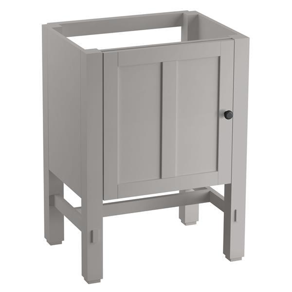 KOHLER Tresham Vanity - 24-in x 32.5-in - Gray