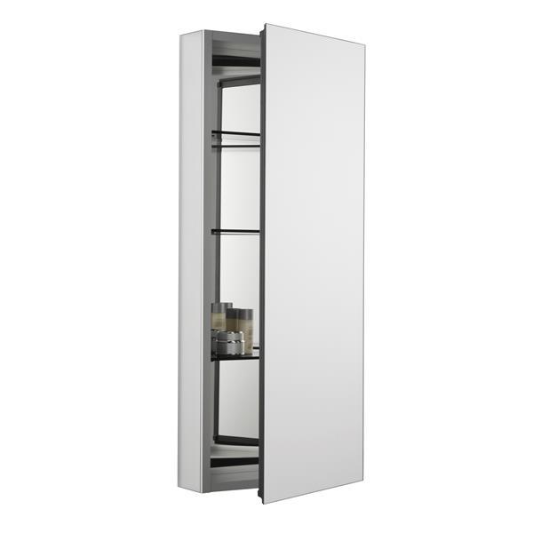 Kohler Catalan Medicine Cabinet 15 In X 36 13 In Aluminum