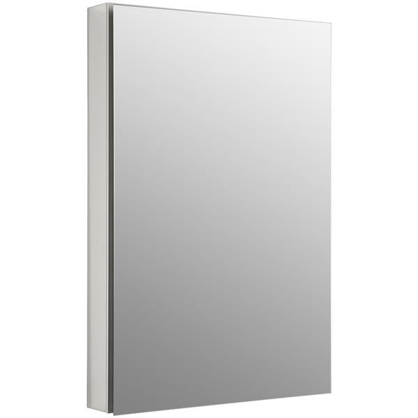 KOHLER Catalan Medicine Cabinet - 24.13-in x 36.13-in - Aluminum