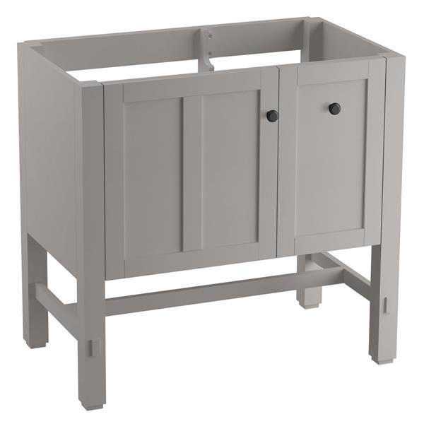 KOHLER Tresham Vanity - 36-in x 34.5-in - Gray