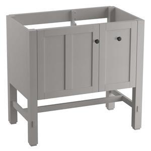 "Meuble-lavabo Tresham, 36"" x 34,5"", gris"