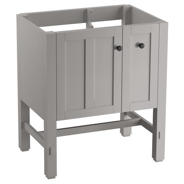 KOHLER Tresham Vanity - 30-in x 34.5-in - Gray