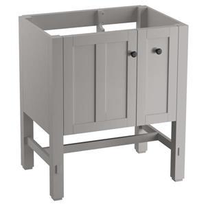 "Meuble-lavabo Tresham, 30"" x 34,5"", gris"
