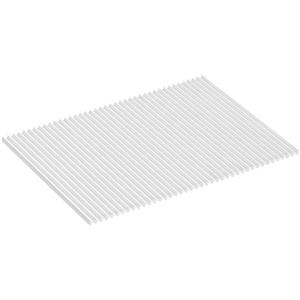 KOHLER Drying Mat - 11-in x 15-in - Silicone - White