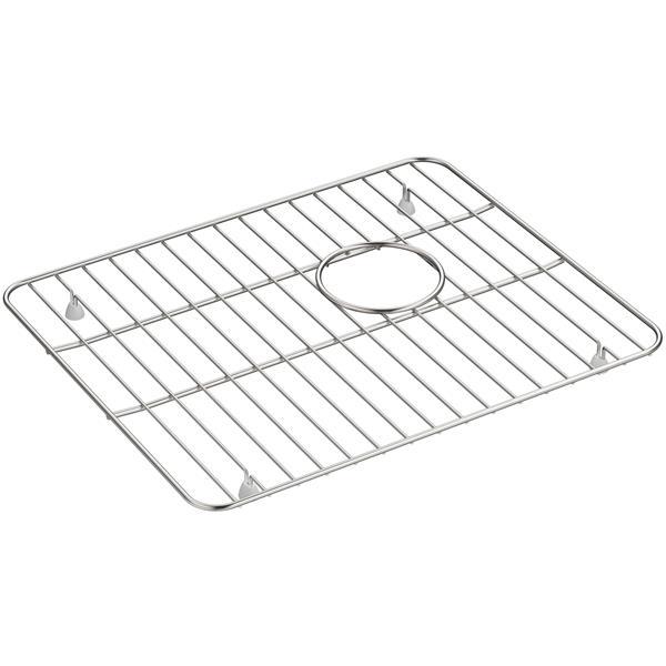 KOHLER Whitehaven Sink Rack - 17.6-in - Stainless steel