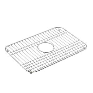 KOHLER Sink Rack - 19-in - Stainless steel