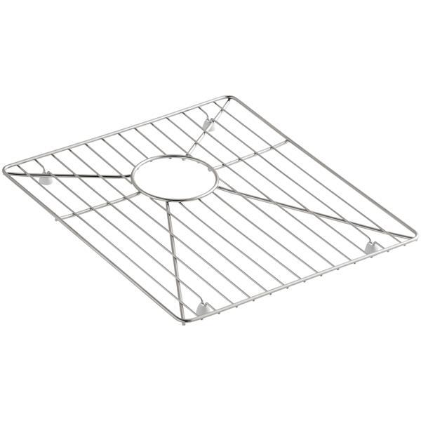 KOHLER Sink Rack - 15.9-in - Stainless steel - Silver