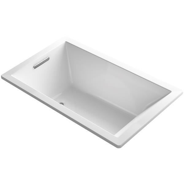 KOHLER Underscore Drop-In Bath - 36-in x 21-in - Acrylic - White