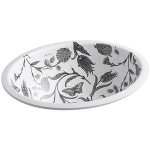 KOHLER Undermount Sink - 16.13-in - Porcelain - White