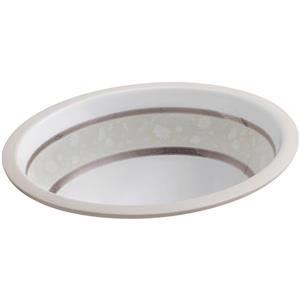"""Lavabo sous-comptoir, 16,13"""" x 8,2"""", porcelaine, blanc"""