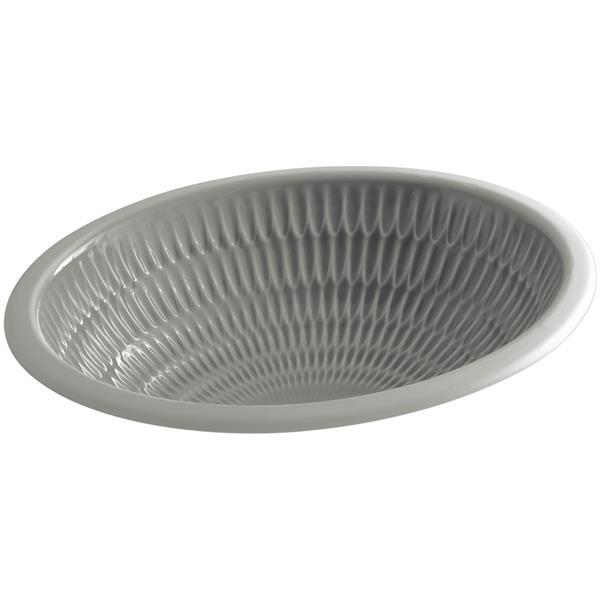 KOHLER Undermount Sink - 16.38-in - Porcelain - White