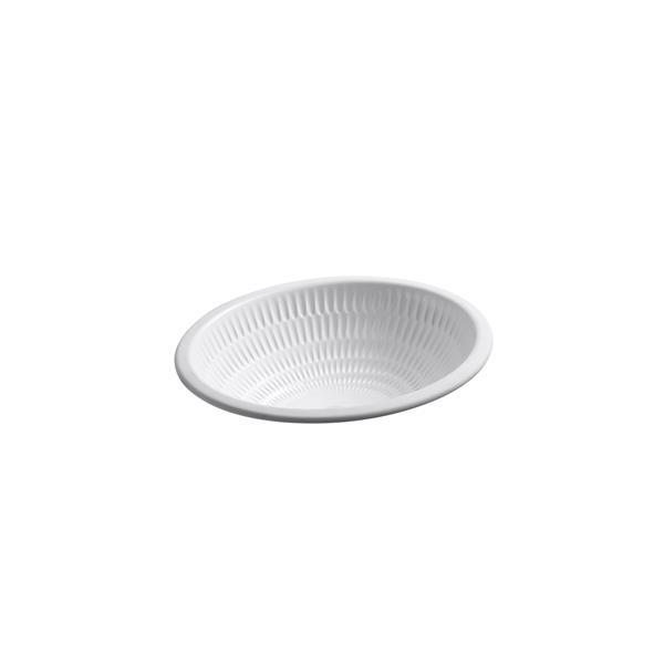KOHLER Ricochet Undermount Sink - 16.38-in - Porcelain - White