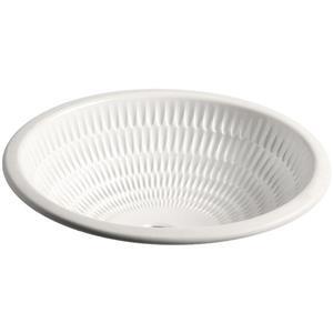 """Lavabo sous-comptoir Derring, 16,38"""", porcelaine, blanc"""