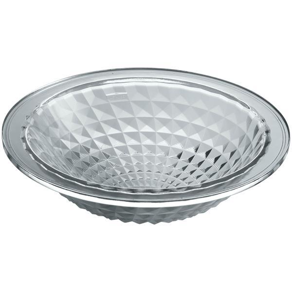 KOHLER Kallos Undermount Sink - 16-in x 5.13-in - Glass - Clear