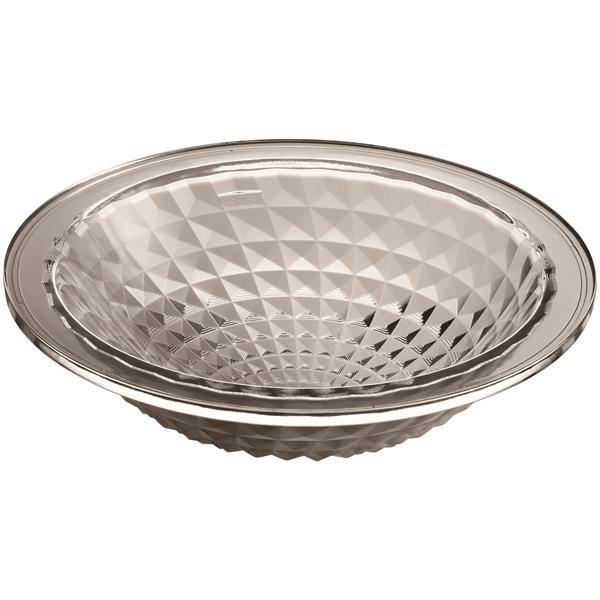 KOHLER Kallos Undermount Sink - 16-in - Glass - Clear