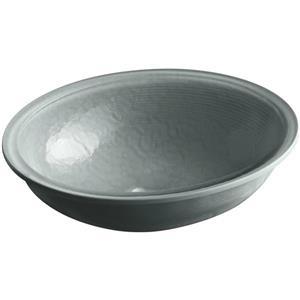 KOHLER Undermount Sink - 16.13-in x 5.38-in - Glass - Gray