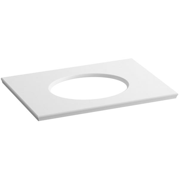 KOHLER Solid/Expressions Vanity Top - 31-in - White