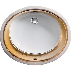 KOHLER Laureate Undermount Sink - 16.25-in - Porcelain - White