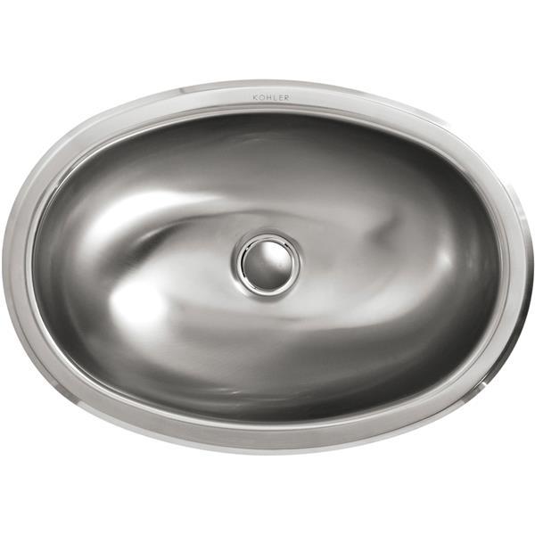 KOHLER Bolero Drop-in Sink - 11.75-in - Stainless Steel - Silver