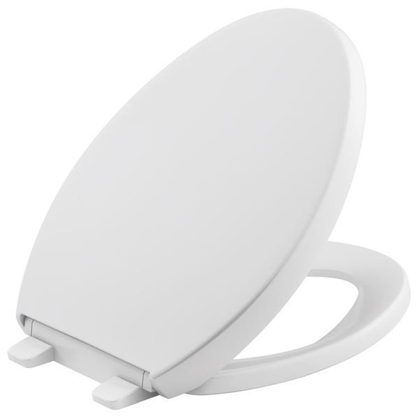 KOHLER Reveal Toilet Seat - 17.62-in - Plastic - White