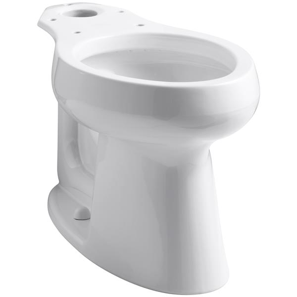 KOHLER Highline Elongated Toilet Bowl - 16.5-in - White