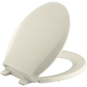 KOHLER Cachet Toilet Seat - 16.06-in - Plastic - Almond