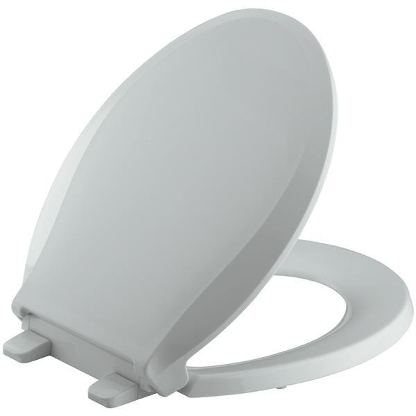 KOHLER Cachet Toilet Seat - 16.06-in - Plastic - Gray