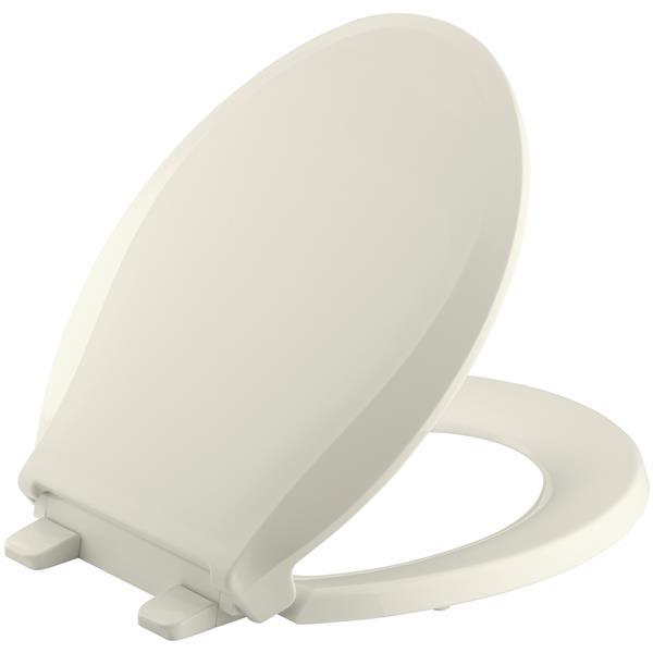 KOHLER Cachet Toilet Seat - 16.06-in - Plastic - Biscuit