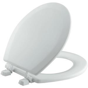 KOHLER Triko Toilet Seat - 15-in - Plastic - Gray