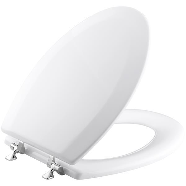 Kohler Triko Toilet Seat 17 5 In Wood White 4722 T 0 Rona