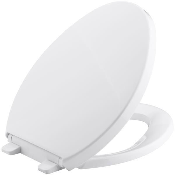 KOHLER Saile Toilet Seat - 1.3-in - Plastic - White