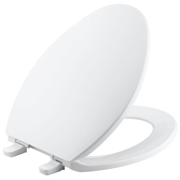 KOHLER Brevia Toilet Seat - .75-in - Plastic - White