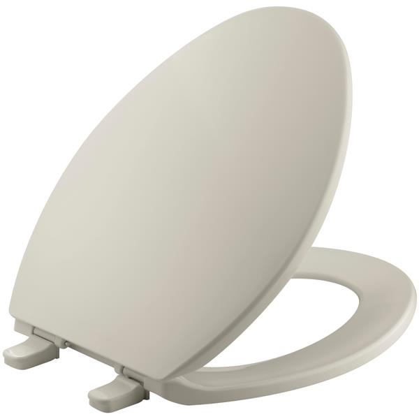 KOHLER Brevia Toilet Seat - 18.6-in - Plastic - Biscuit