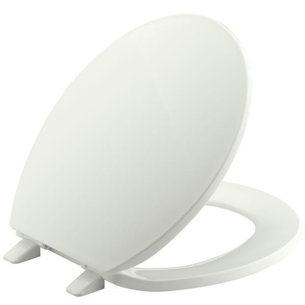 KOHLER Brevia Toilet Seat - 16.6-in - Plastic - Almond