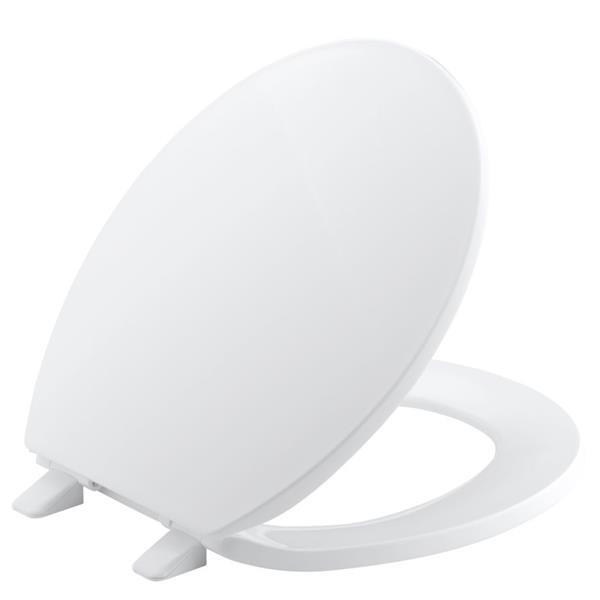 KOHLER Brevia Toilet Seat - 16.6-in - Plastic - White
