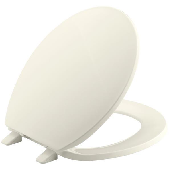 KOHLER Brevia Toilet Seat - 16.6-in - Plastic - Biscuit