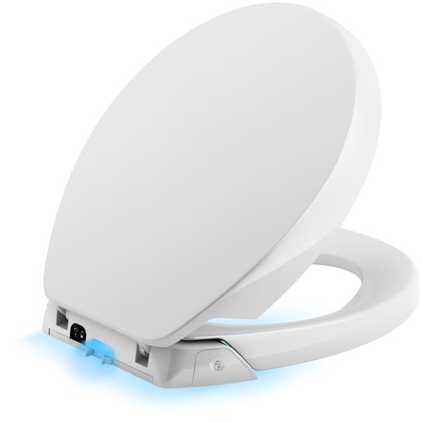 KOHLER Purefresh Toilet Seat - 17.4-in - Plastic - White