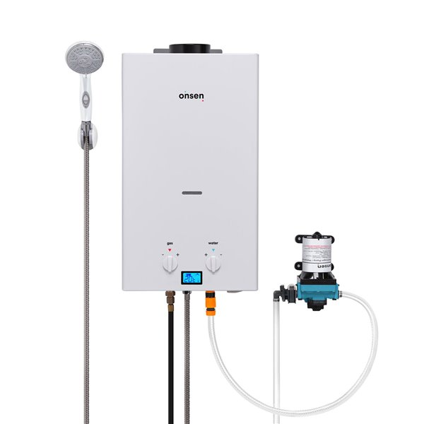 Onsen 10 L Portable Tankless Water Heater with 3.0 Pump