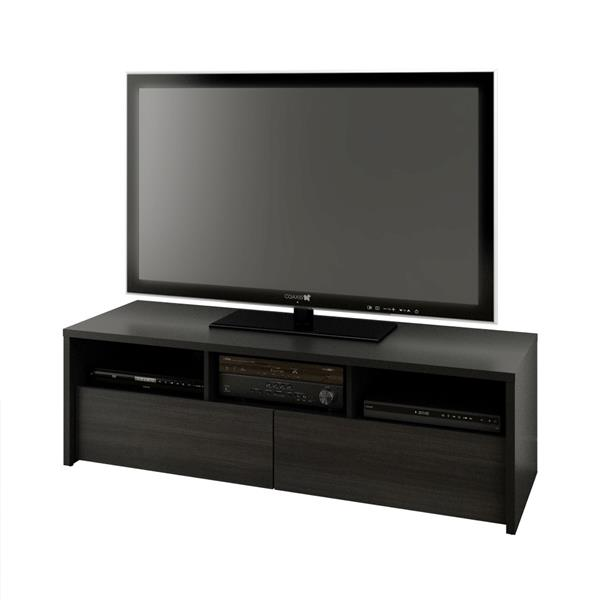 Nexera Sereni-T Entertainment Set - Black and Ebony - 2-piece