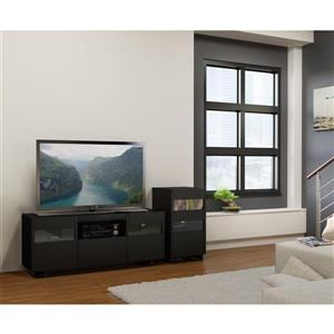 Nexera Vision Entertainment Set - Black - 2 Piece